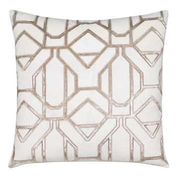 CLARA CHAMPAGNE DECORATIVE PILLOW