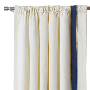 FILLY WHITE CURTAIN PANEL (L)