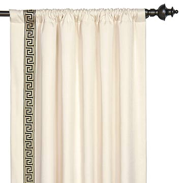 FOLLY PARCHMENT CURTAIN PANEL R