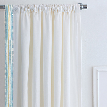 BREEZE SHELL CURTAIN PANEL (RIGHT)