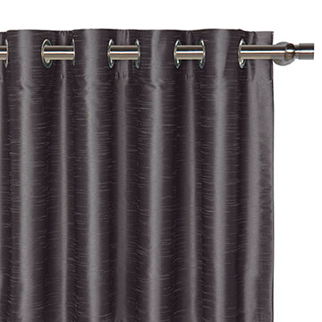 EDRIS CHARCOAL CURTAIN PANEL