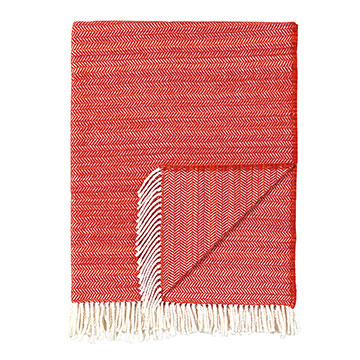 STRIE TANGERINE THROW
